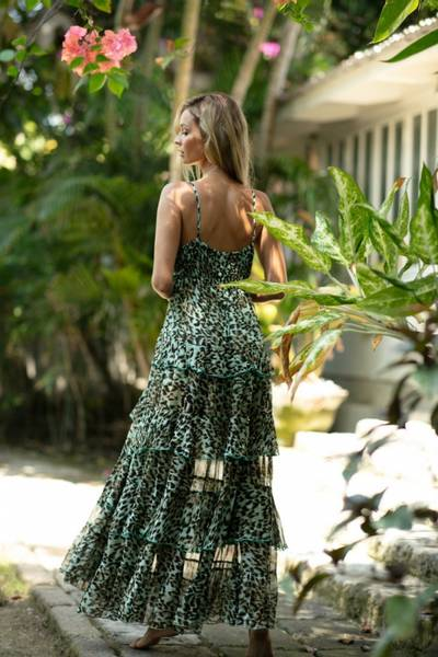Kalimba kjole Aqua