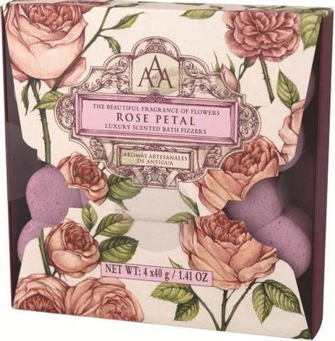 Bilde av Floral badebombe rose