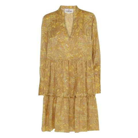 Bilde av Mabel kjole Canary Paisley