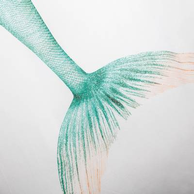 Bilde av Snurk havfrue sengesett