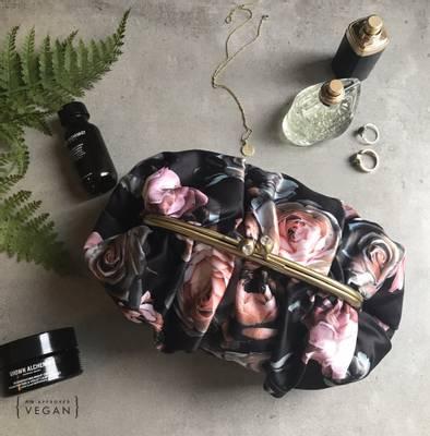 Bilde av Dark Lily rose toalettmappe stor