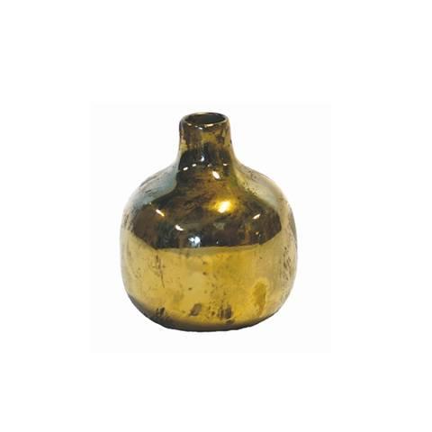 Bilde av Medina vase gull