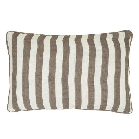 Bilde av Sagamore stripe pynteputetrekk brun