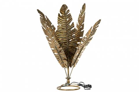 Bilde av Bordlampe palmeblad