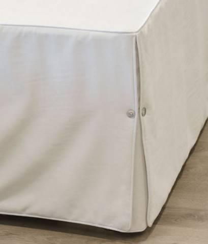 Bilde av Nord sengekappe babycord hvit