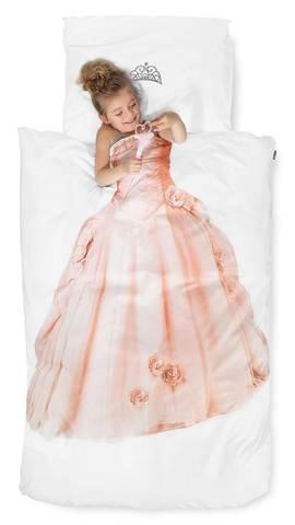 Bilde av Snurk prinsesse sengesett rosa