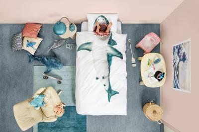 Bilde av Snurk shark sengesett