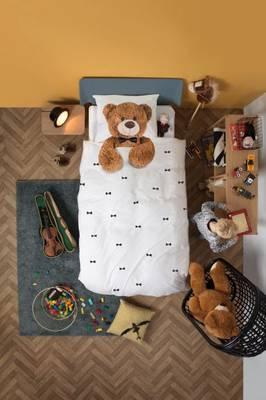 Bilde av Snurk teddy sengesett