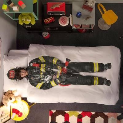 Bilde av Snurk brannmann sengesett