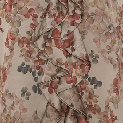 Bilde av Ruffle Kimono melange taupe