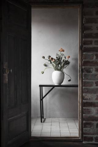 Bilde av Ernst hvitglasert vase 2 str