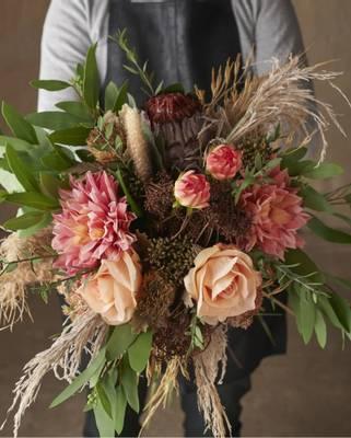 Bilde av Rose brun 60 cm