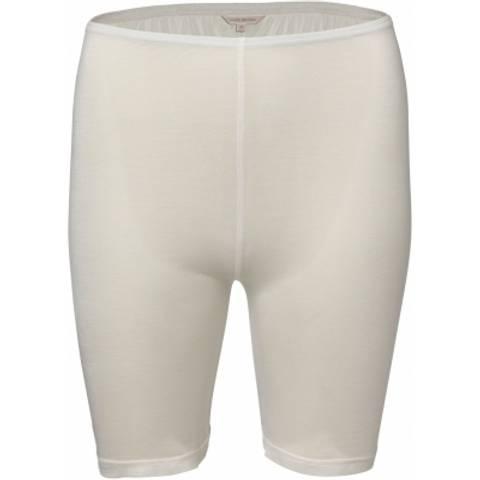 Bilde av Silke jersey tights, kort off-white