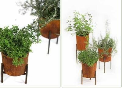 Bilde av Blomsterpotte rust 2str