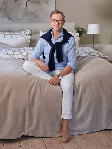 Bilde av HB Byron sengeteppe Pure cashmere