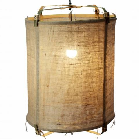 Bilde av Bambus/Jute taklampe