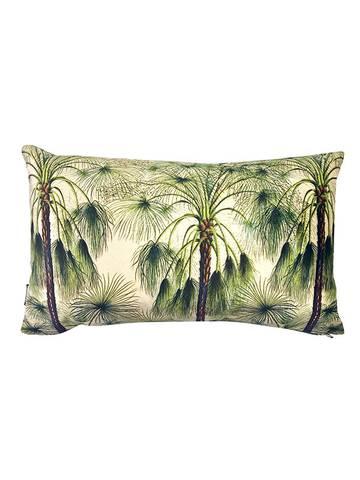 Bilde av Green palms velour pynteputetrekk
