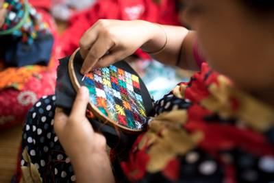 Bilde av Dhaka lommebok liten