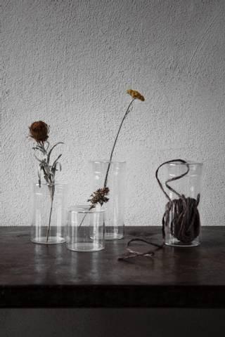Bilde av ernst Glassvase med lokk 2 str
