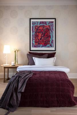 Bilde av Bordeaux hotelputetrekk burgunder