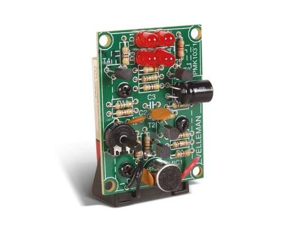 Velleman MK103, SOUND-TO-LIGHT UNIT, elektronikk-byggesett