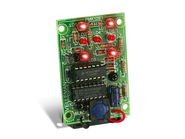 Velleman MK109 ELECTRONIC DICE, elektronikk byggesett