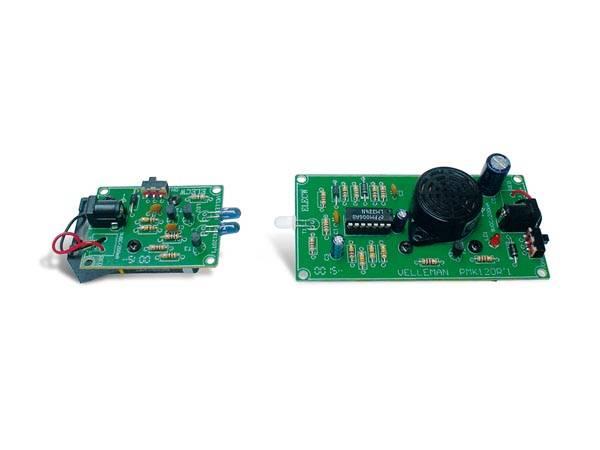 Velleman MK120,  IR Lys alarm / mottaker, elektronikk-byggesett