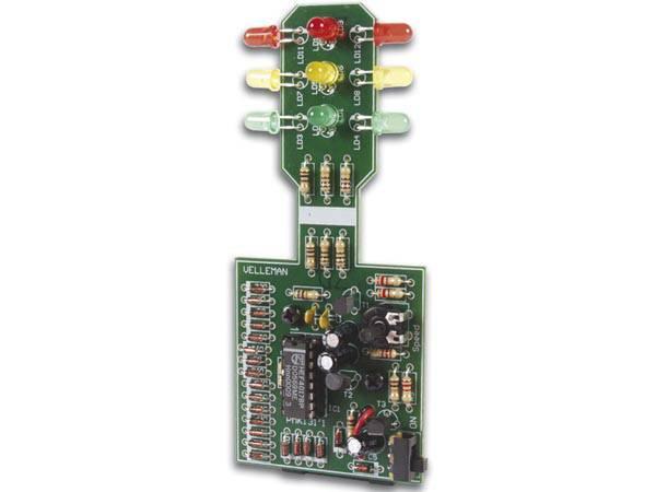 Velleman MK131,  trafikklys, elektronikk-byggesett
