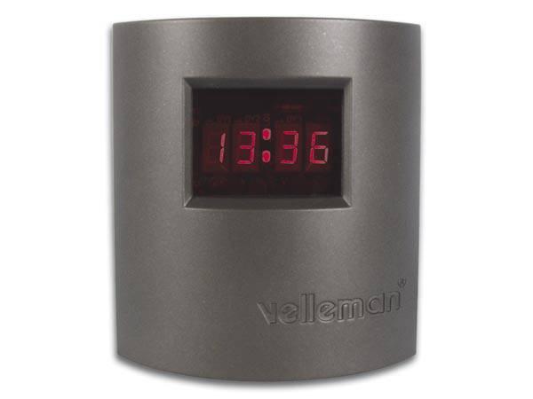 Velleman MK151,  Digital LED klokke, elektronikk-byggesett