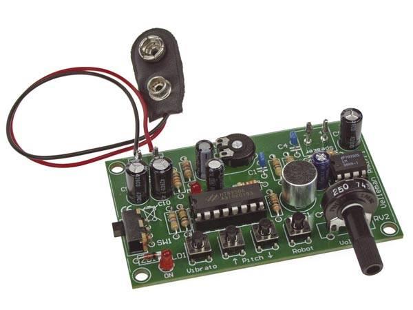 Velleman MK171, stemmeforvrenger, elektronikk byggesett