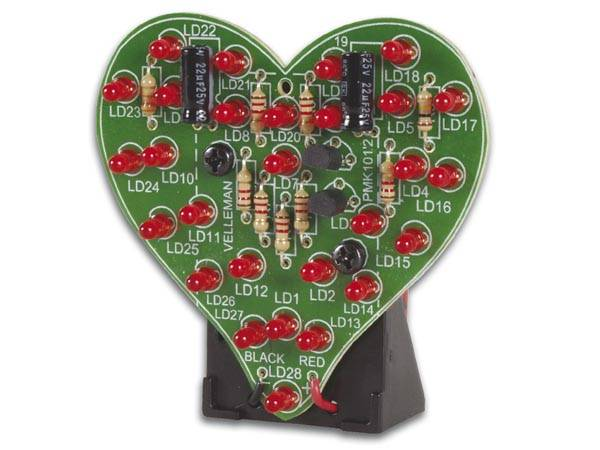 Velleman MKSET2, pakke med 5stk elektronikk byggesett
