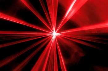 Røde Showlaser-Discolaser
