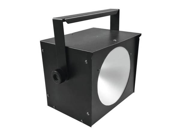 LED Power Strobelys COB DMX. Kraftig LED strobelys musikks