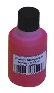 Bilde av UV Stempel væske rød.