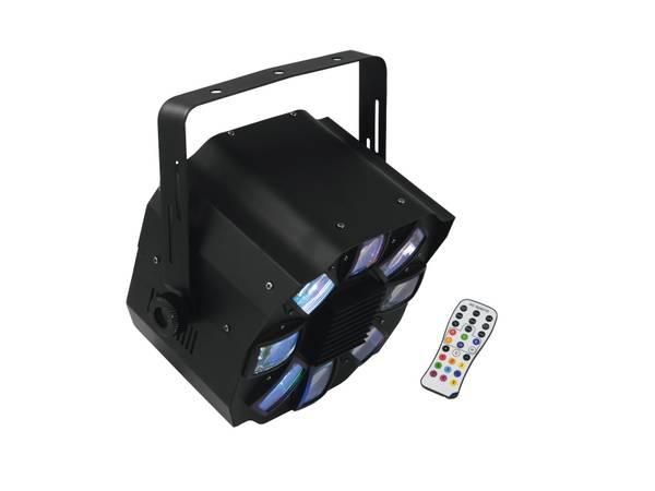 LED FE-700 Flower Effekt, musikkstyrt LED-discolys