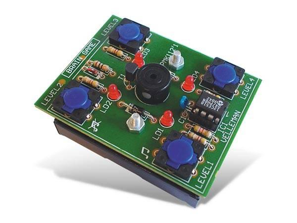 Velleman MK112 BRAIN GAME, elektronikk byggesett