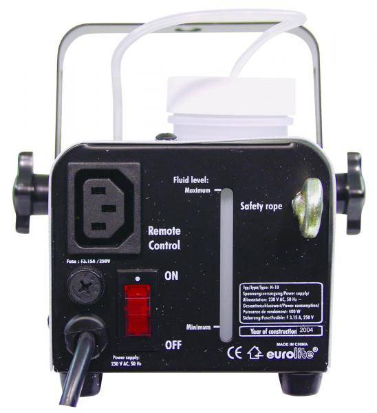 Eurolite N-10 røykmaskin + 1L røykvæske