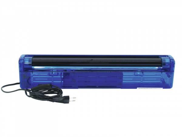 Blacklight sett 45cm / 15Watt (blå armatur) UV-lys