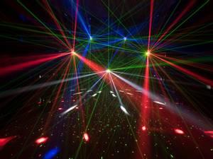Bilde av LED Discolys + laser +