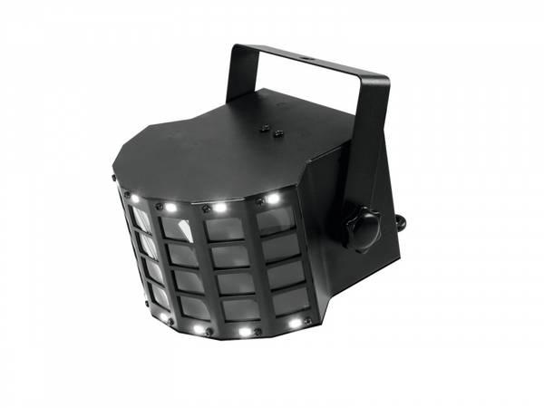 EUROLITE LED Mini D-6 Hybrid Beam Effect diskolys RGB og Strobel
