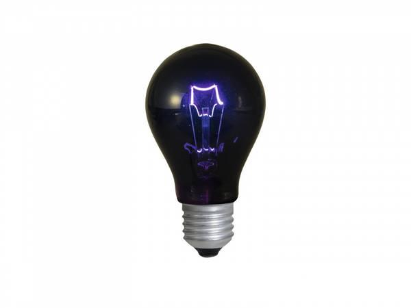 75W UV / blacklight lyspære E-27 / 230V