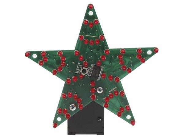 MK170, 60-LED Multieffekt Stjerne, elektronikk-byggeset