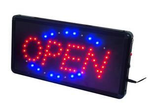 Bilde av LED OPEN Lysskilt