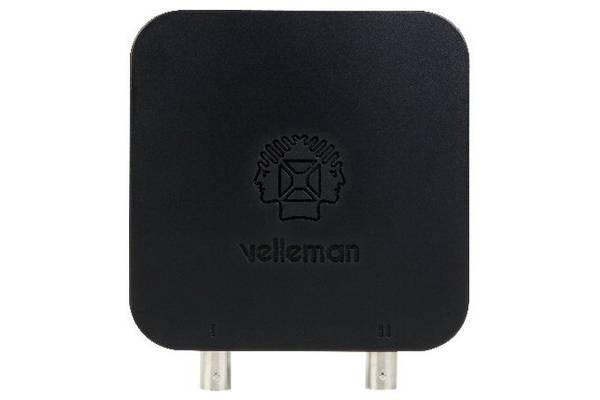Velleman WFS210 2 kanaler WIFI oscilloskop. Verdens første!