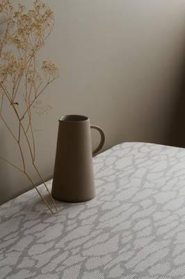 350cm Tablecloth Light Grey Norwegian Forest