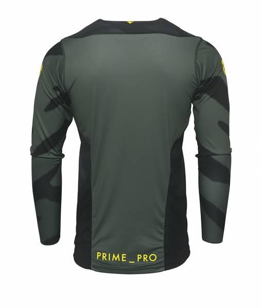 2021 PRIME PRO CAST TRØYE, MILITARY GREEN/BLACK