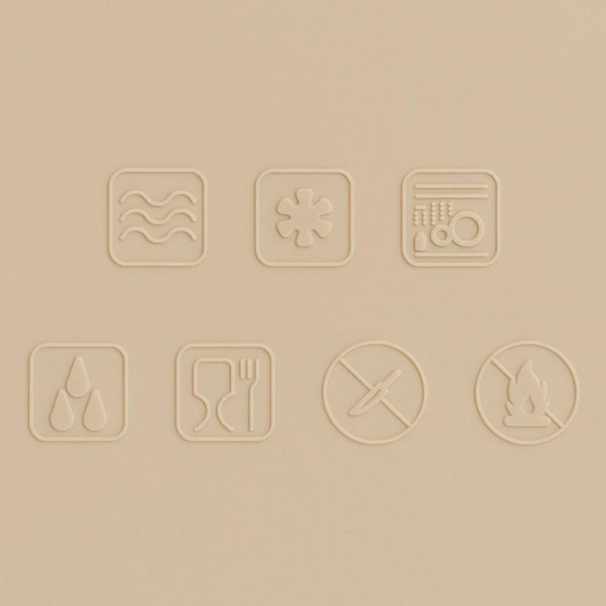 Sammenleggbar MATBOKS - Sand