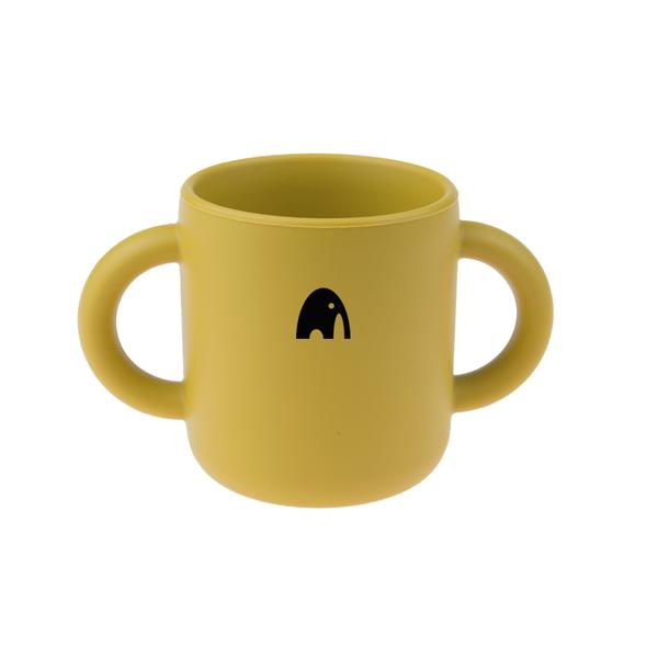Bilde av Drikkekopp med navn - Mustard