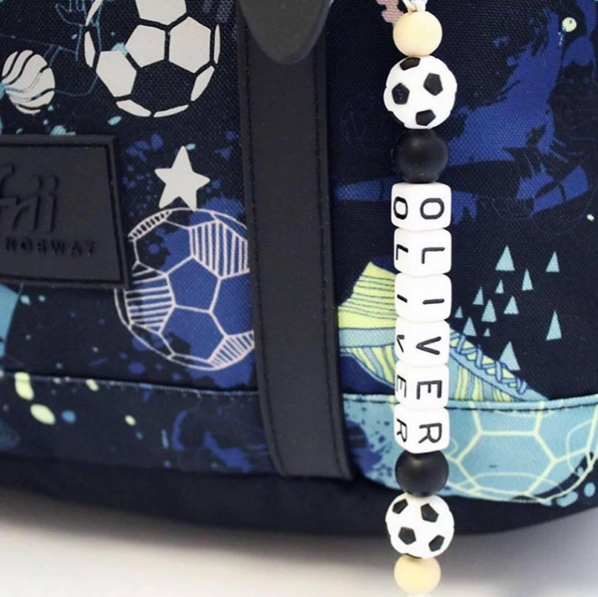 Navnelenke til sekk - Fotball