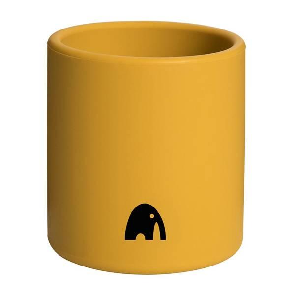 Bilde av Kopp i silikon - Mustard